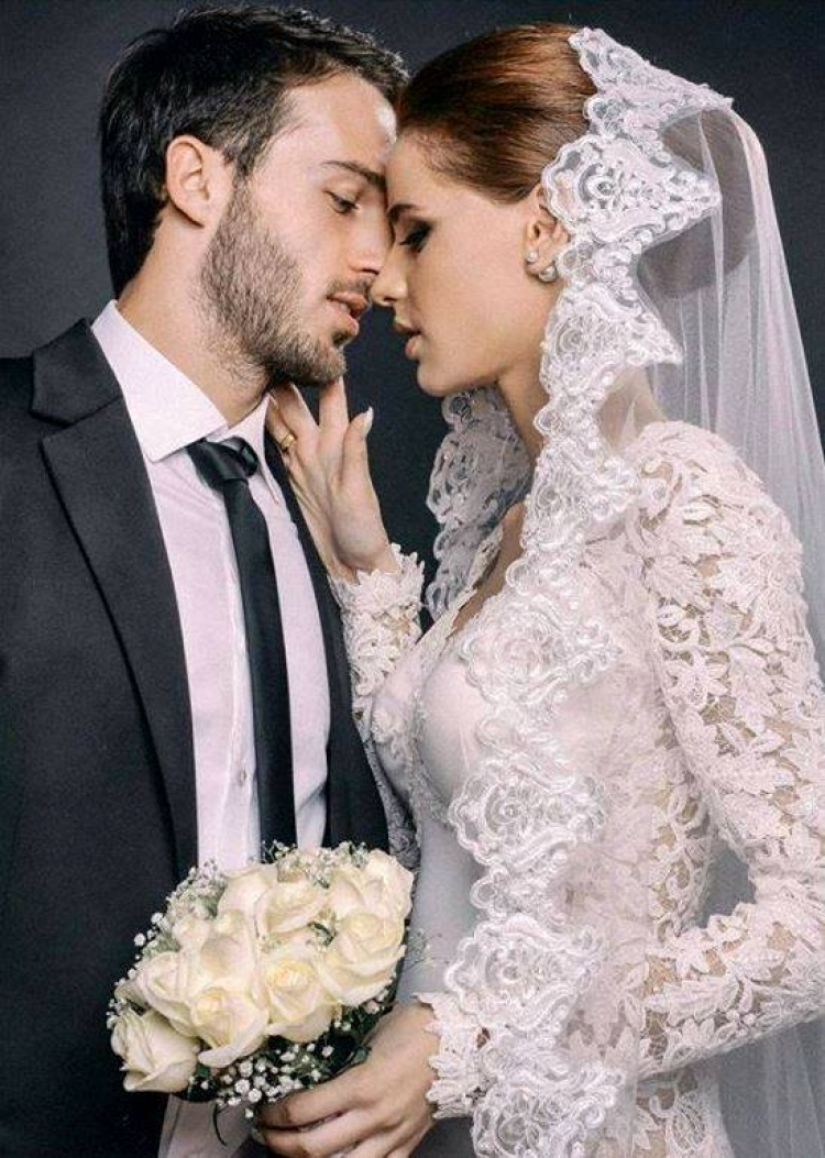 Extremely beautiful Georgian couple\'s wedding photos blew the ...