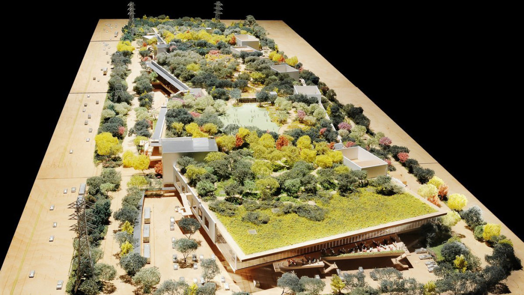 Facebooks new office Fantasyland with garden roof GeorgianJournal
