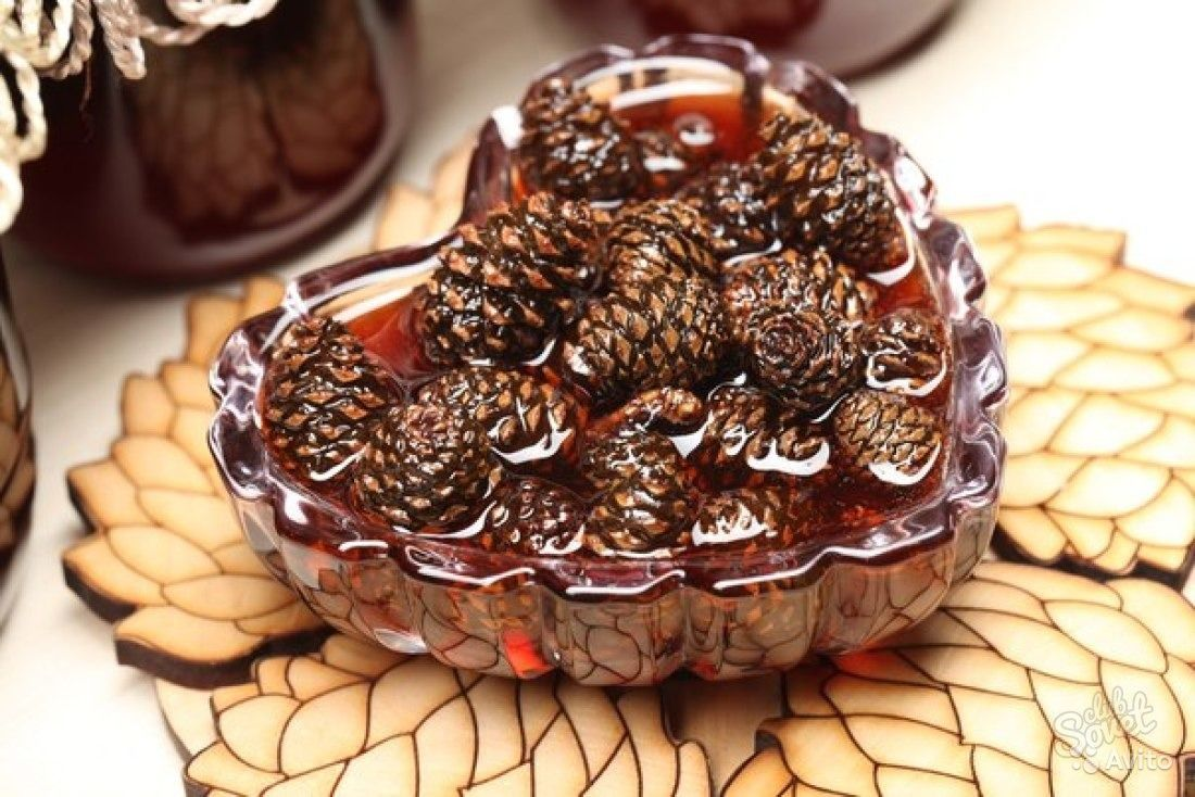 Pine cones jam. The most delicious cooking recipes 88