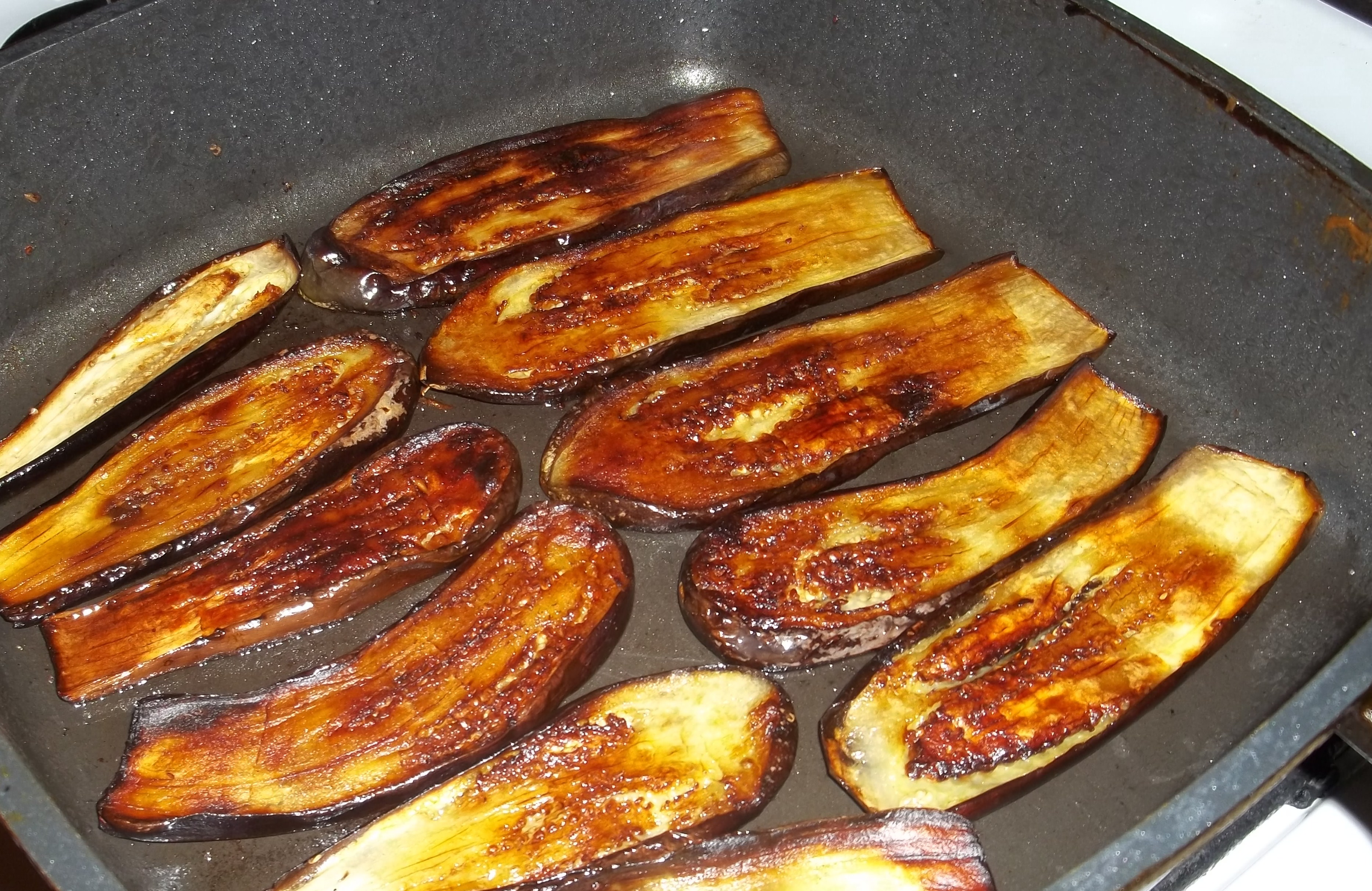 How to fry eggplant 88