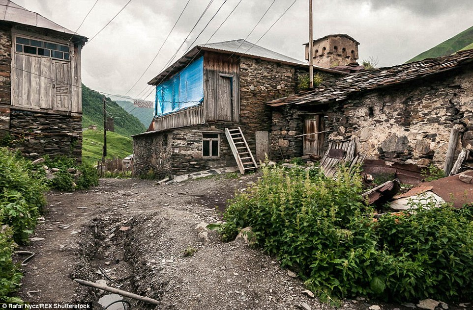 Life in the clouds: Ushguli, highest village in Europe