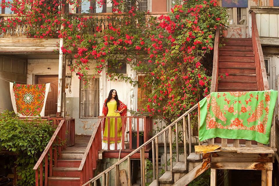 Meet the Frida Kahlo Look-Alike Shaking Up Fashion in