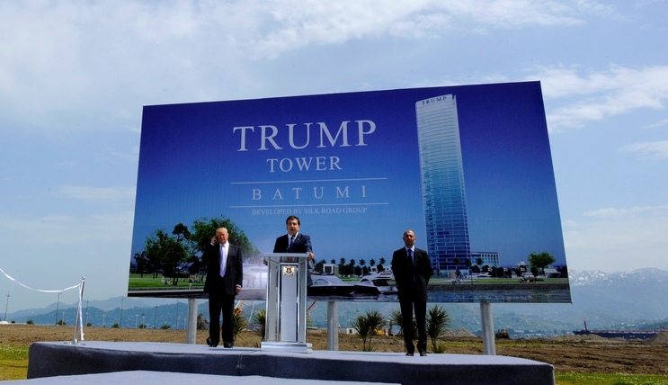 will construction of trump tower resume in batumi