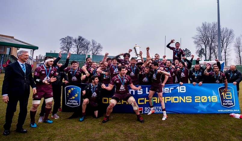 rugby georgia U18 europe champions-ის სურათის შედეგი