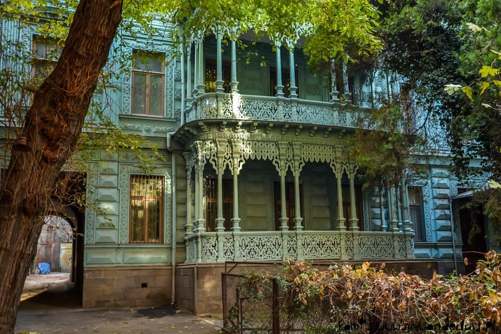 старинные грузинские дома фото там