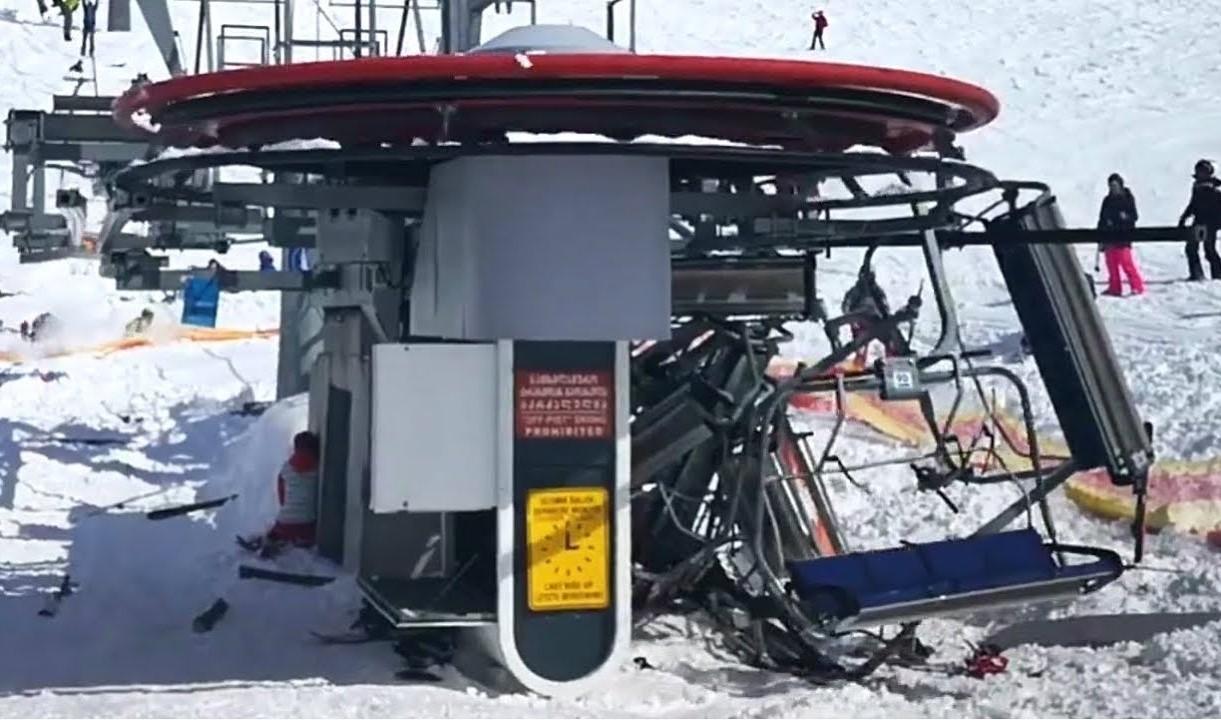 Full story of Gudauri ski lift accident - Chairlift horror