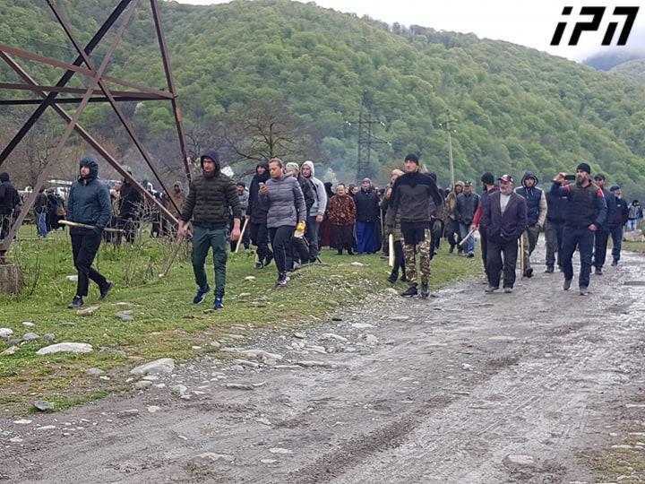 """Résultat de recherche d'images pour """"demonstration pankisi"""""""
