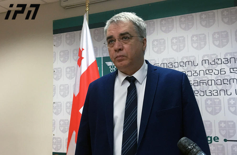 Davit Sergeenko, Georgia's Minister of Health, Labor, and Social Affairs