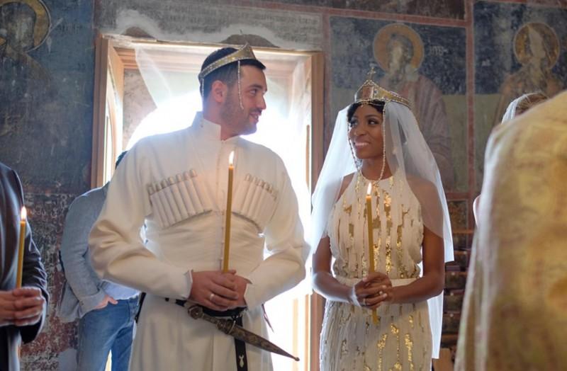 dosis Felicidades diario  Nik West and Niko Kandelaki publish their wedding video - GeorgianJournal